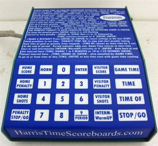 Game Clock Instructions (Olympic Arena)